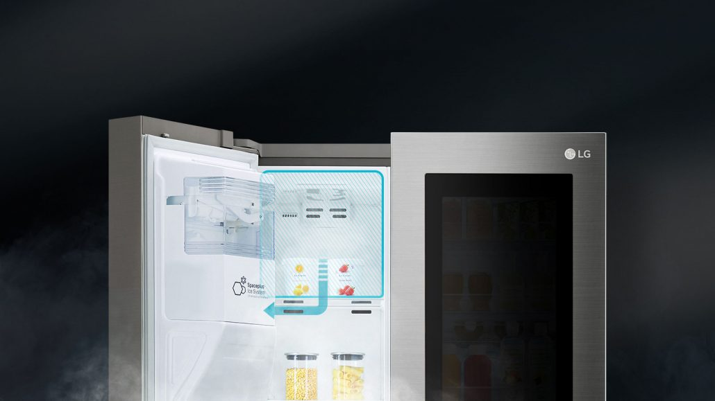 A++ Rated InstaView Door-in-Door Refrigerator with Non-Plumbed Water and Ice Dispenser GSX961NSAZ
