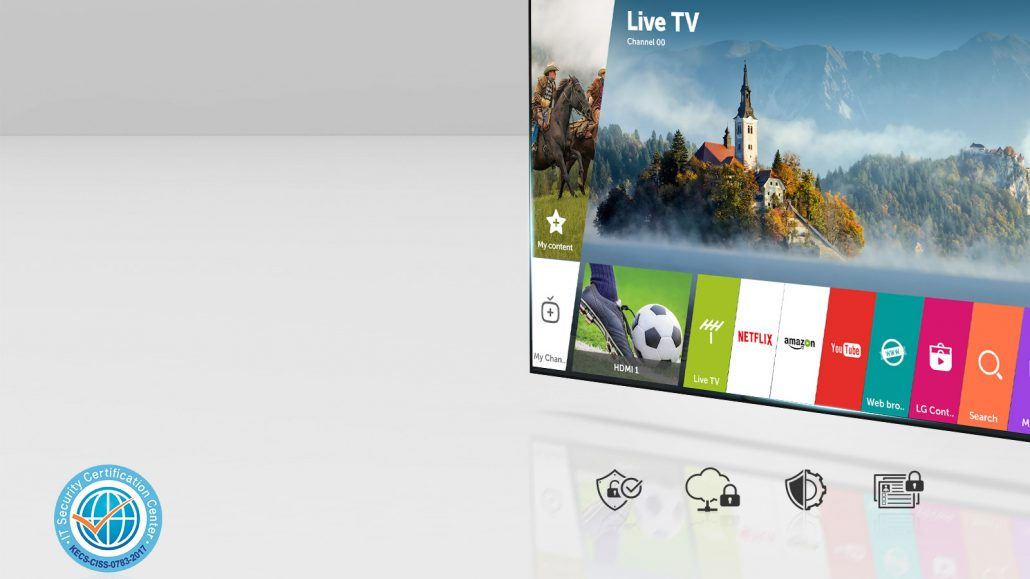 LG webOS 3.5, security you can trust